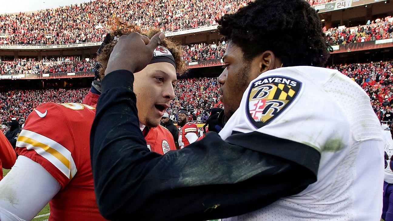 Chiefs y Ravens concluyen la semana 3 en duelo de invictos
