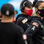 Las mujeres en el Super Bowl 55