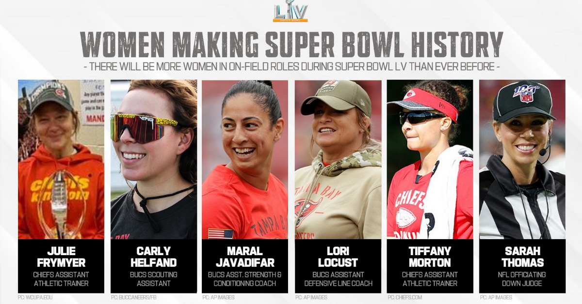 Womens in the Super Bowl